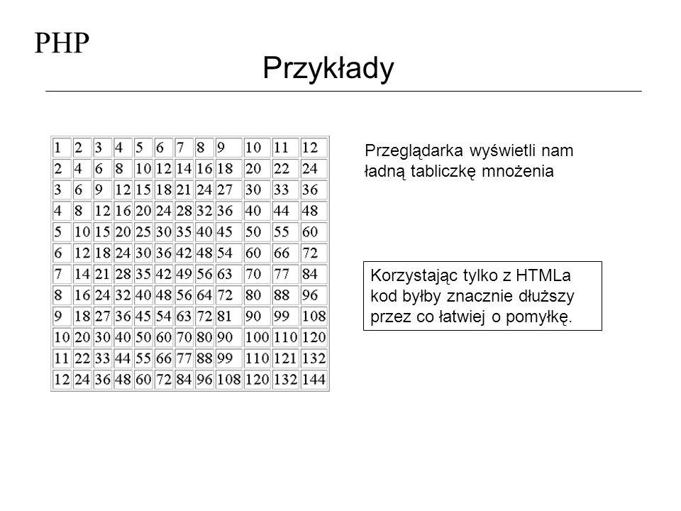 PHP Przykłady Plik grafika.php <.