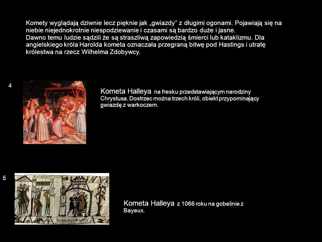 Kometa 1472 roku przedstawiona w Kronice norymberskiej (Norymberga, 1493) jako kometa Halleya z 684 roku (choć nią nie była).