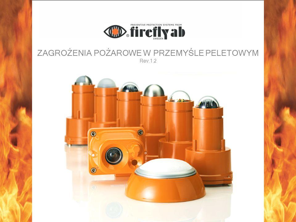 Sposób działania detektorów Detektory Firefly Wykorzystują ogniwa siarczku ołowiu(PBS) Wykrywają iskry i gorące czarne cząstki Detektor TD wykrywa temperaturę od 250°C Detektor GD wykrywa temperaturę od 400°C Są niewrażliwe na światło dzienne Inni producenci Wykorzystują fotokomórki krzemowe Fotokomórka widzi światło emitowane przez iskry Nie wykrywają gorących czarnych cząstek Wykrywają temperaturę dopiero od 700°C Wrażliwe na światło dzienne (duża ilość fałszywych alarmów)
