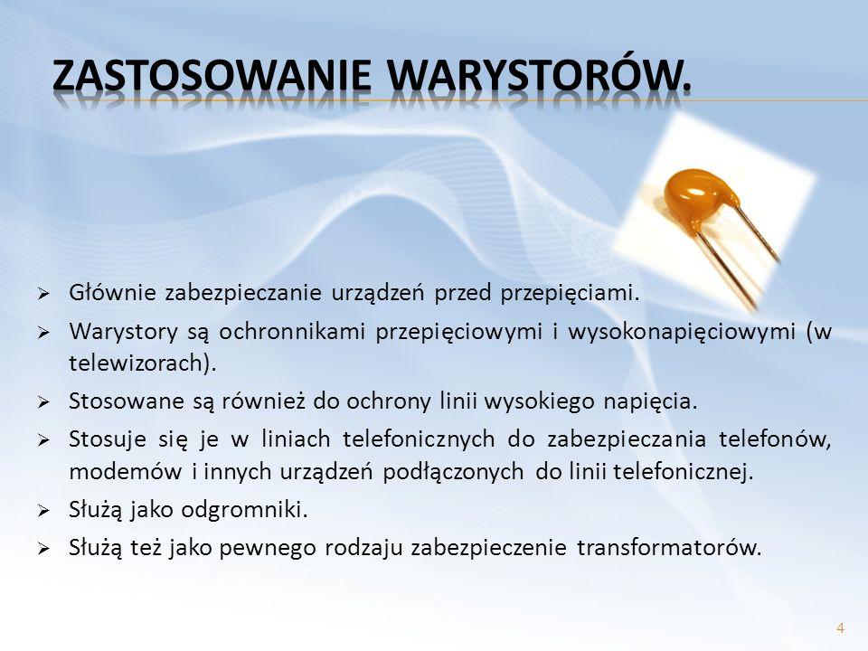 - diody pojemnościowe -stosowana nazwa to warikapy i waraktory.
