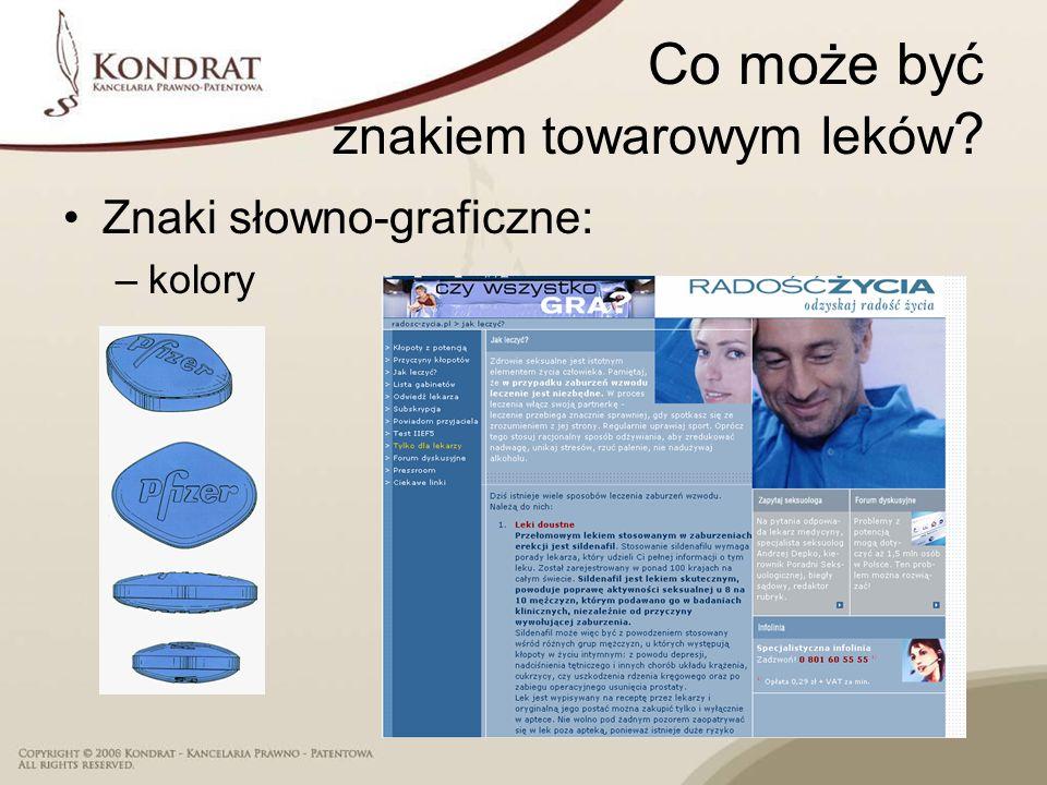 Nazwy leków Komunikat Prezesa URPL z 12 marca 2008 r.
