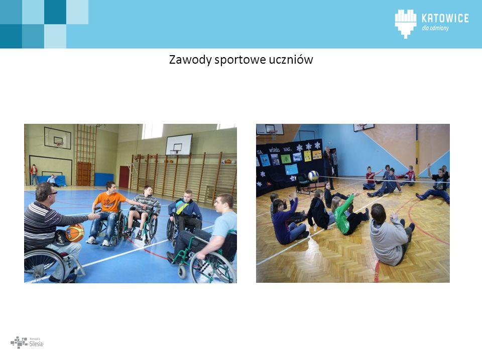 Zawody sportowe uczniów