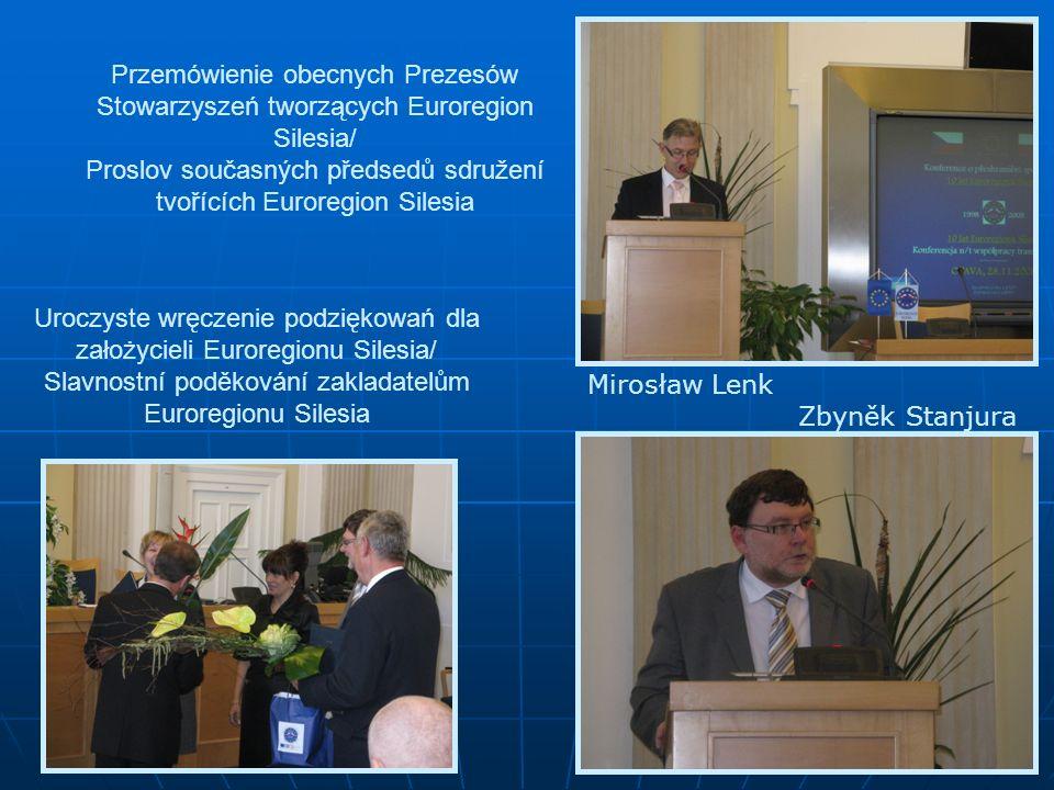 Spotkanie kulturalno-społeczne – Racibórz / Kulturně-společenské setkání – Ratiboř Za drugą część obchodów 10-cio lecia Euroregionu Silesia był odpowiedziały polski sekretariat.