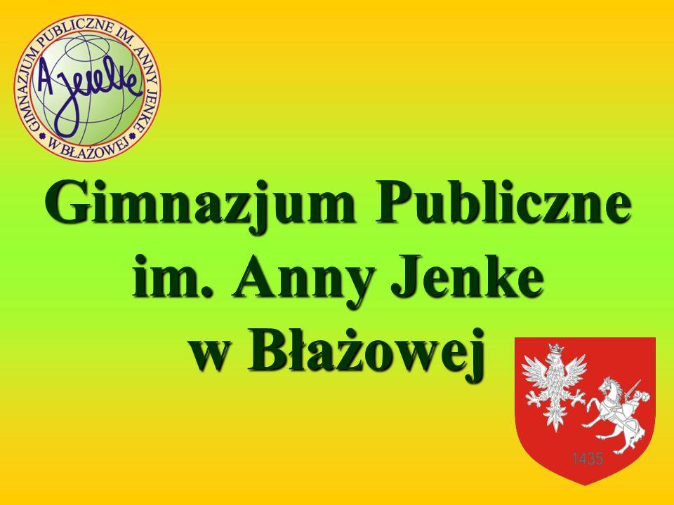Gimnazjum Publiczne im. Anny Jenke w Błażowej