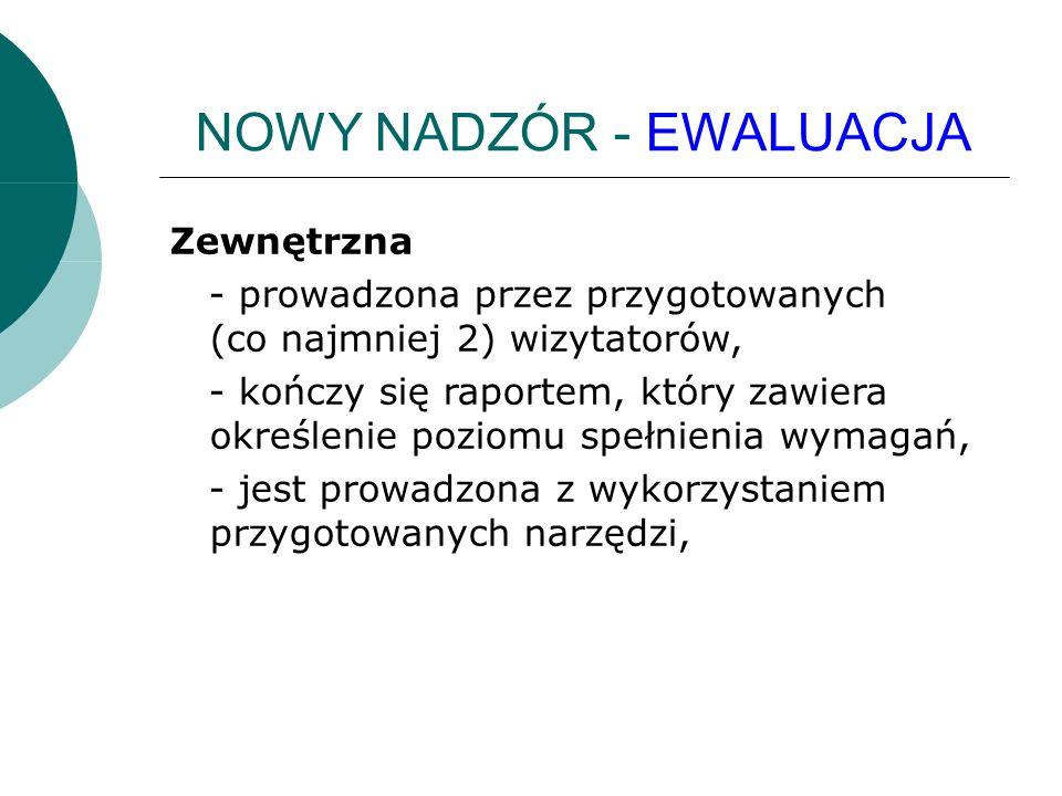 NOWY NADZÓR - EWALUACJA § 7.1.