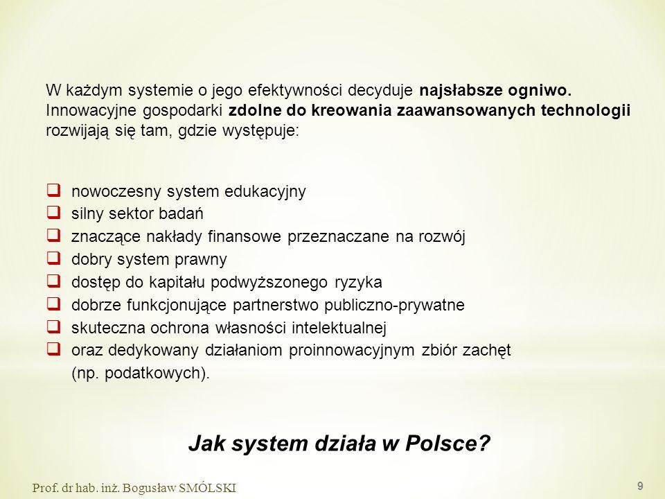 W każdym systemie o jego efektywności decyduje najsłabsze ogniwo. Innowacyjne gospodarki zdolne do kreowania zaawansowanych technologii rozwijają się