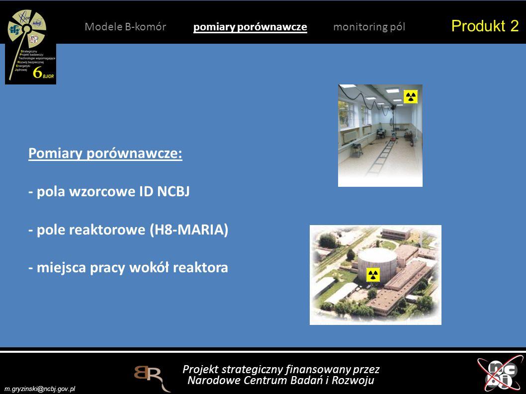 Projekt strategiczny finansowany przez Narodowe Centrum Badań i Rozwoju m.gryzinski@ncbj.gov.pl Produkt 2 Modele B-komór pomiary porównawcze monitoring pól Z kilkudzisięciu opracowanych metod rekombinacyjnych, m.in.