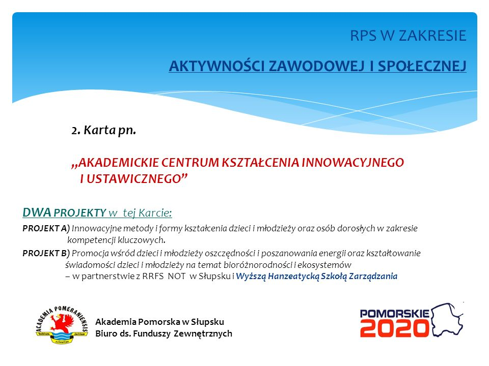RPS W ZAKRESIE OCHRONY ZDROWIA 3.Karta pn.