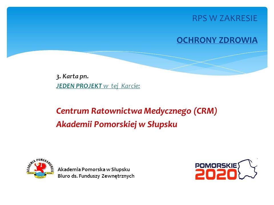 RPS W ZAKRESIE ENERGETYKI i ŚRODOWISKA (dwie karty w tym RPS ) 4.