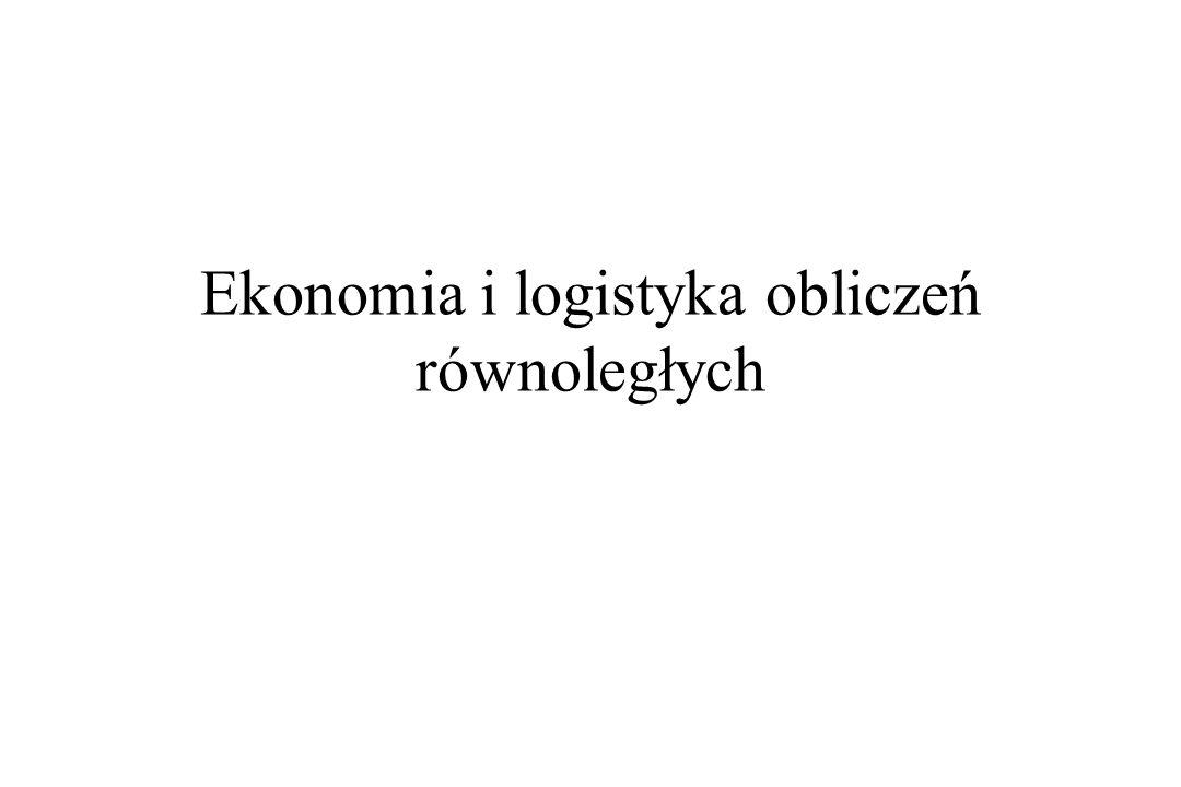 Ekonomia i logistyka obliczeń równoległych