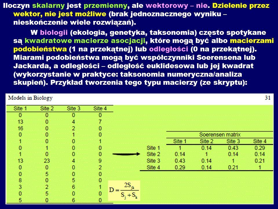 Wskazówki do zadania 2: Czynności mnożenia, zarówno za pomocą programu on-line, jak i dodatku do MS Excel: Matrix Functions and Linear Algebra – wykonujemy analogicznie, jak w zadaniu poprzednim.