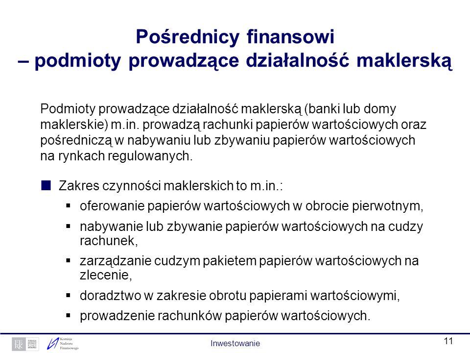 10 Instrumenty finansowe – kwit depozytowy Kwit depozytowy to papier wartościowy wystawiony na podstawie złożonych do depozytu akcji. Wystawcą może by