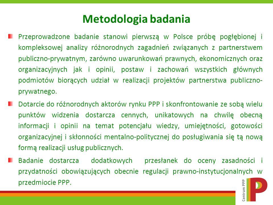 Metodologia badania Przeprowadzone badanie stanowi pierwszą w Polsce próbę pogłębionej i kompleksowej analizy różnorodnych zagadnień związanych z part