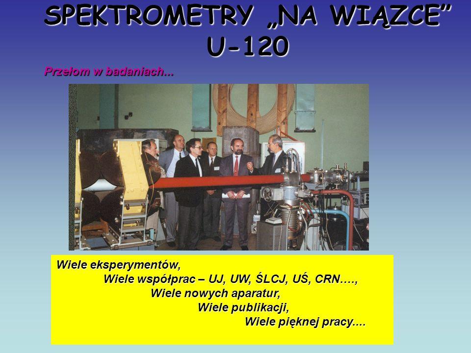 Prezentacja, 50 lat IFJ Skromne możliwości… Wiązka cząstek alfa….