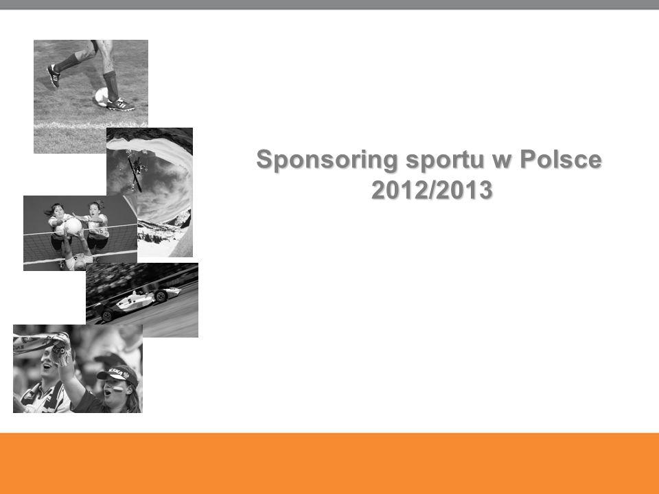 10 Sponsoring sportu w Polsce 2012/2013 2012/2013