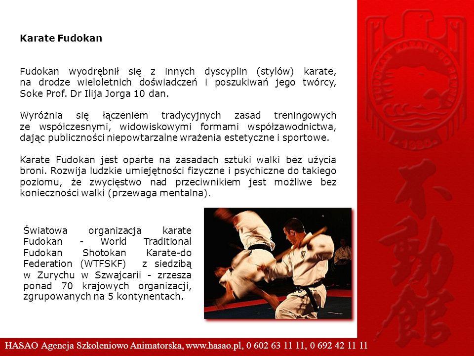 Karate Fudokan Fudokan wyodrębnił się z innych dyscyplin (stylów) karate, na drodze wieloletnich doświadczeń i poszukiwań jego twórcy, Soke Prof. Dr I