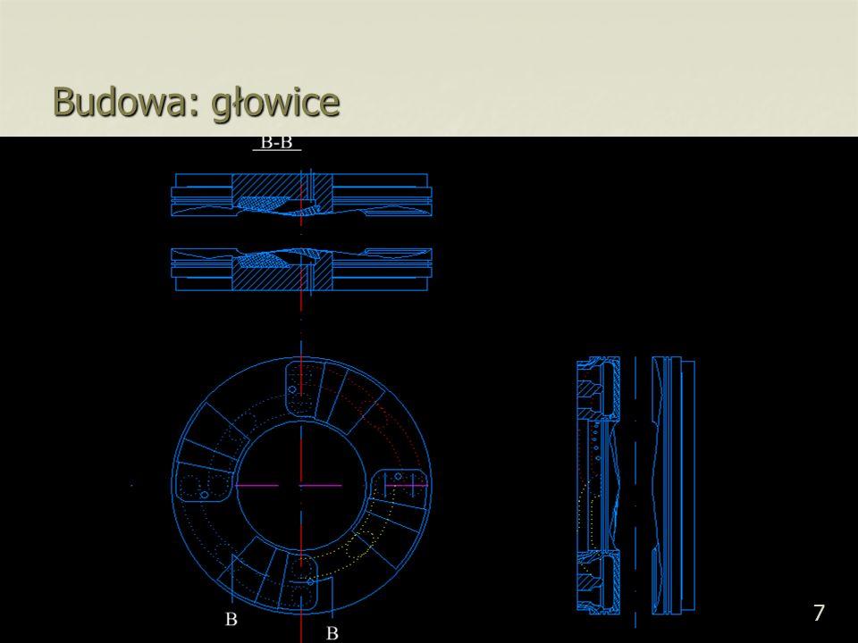 38 Zużycie materiałowe (części na drodze przekazywania energii): tłokowy tłokowy 1.