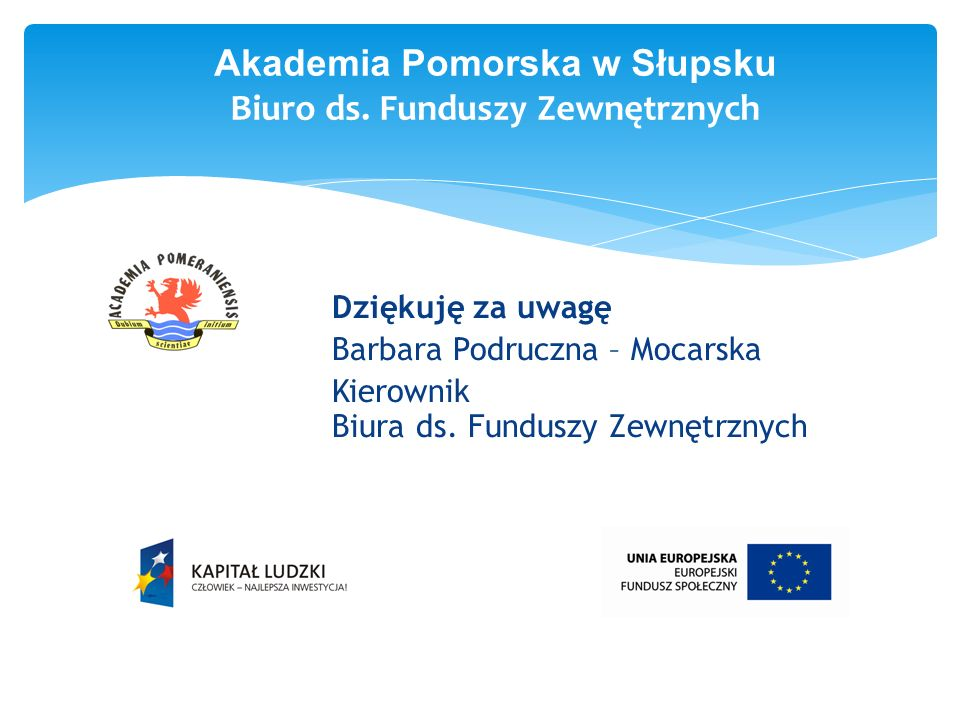 Akademia Pomorska w Słupsku Biuro ds.