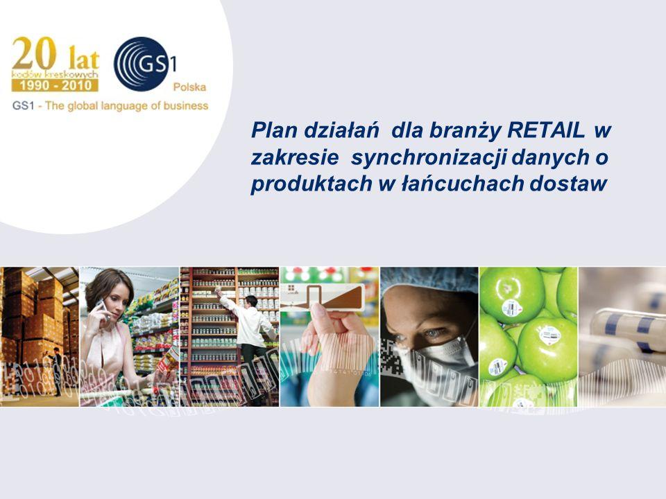 Plan działań dla branży RETAIL w zakresie synchronizacji danych o produktach w łańcuchach dostaw