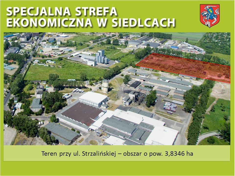 Teren przy ul. Strzalińskiej – obszar o pow. 3,8346 ha