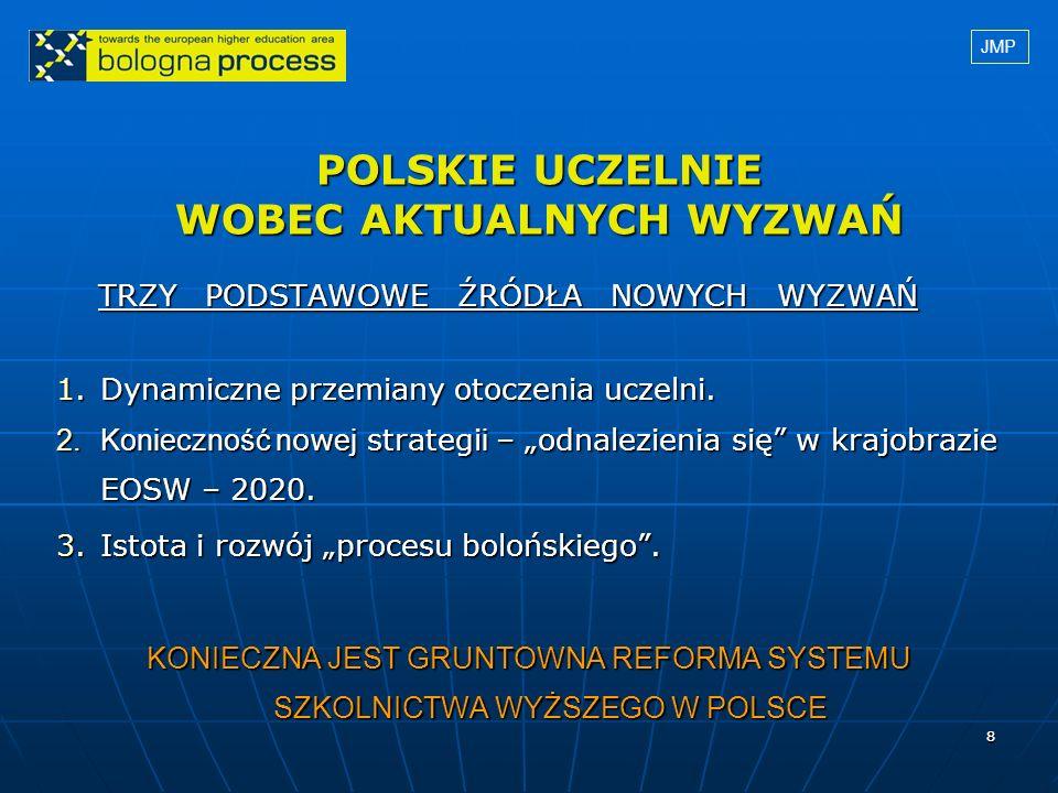 19 QA versus QC Większość funkcjonujących w polskich uczelniach systemów QA działa raczej wirtualnie.