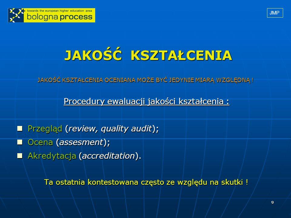 1010 JAKOŚĆ KSZTAŁCENIA c.d. 1.