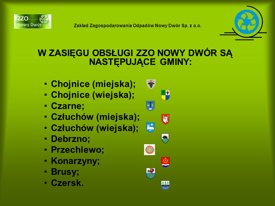 Zakład Zagospodarowania Odpadów Nowy Dwór Sp.z o.o.