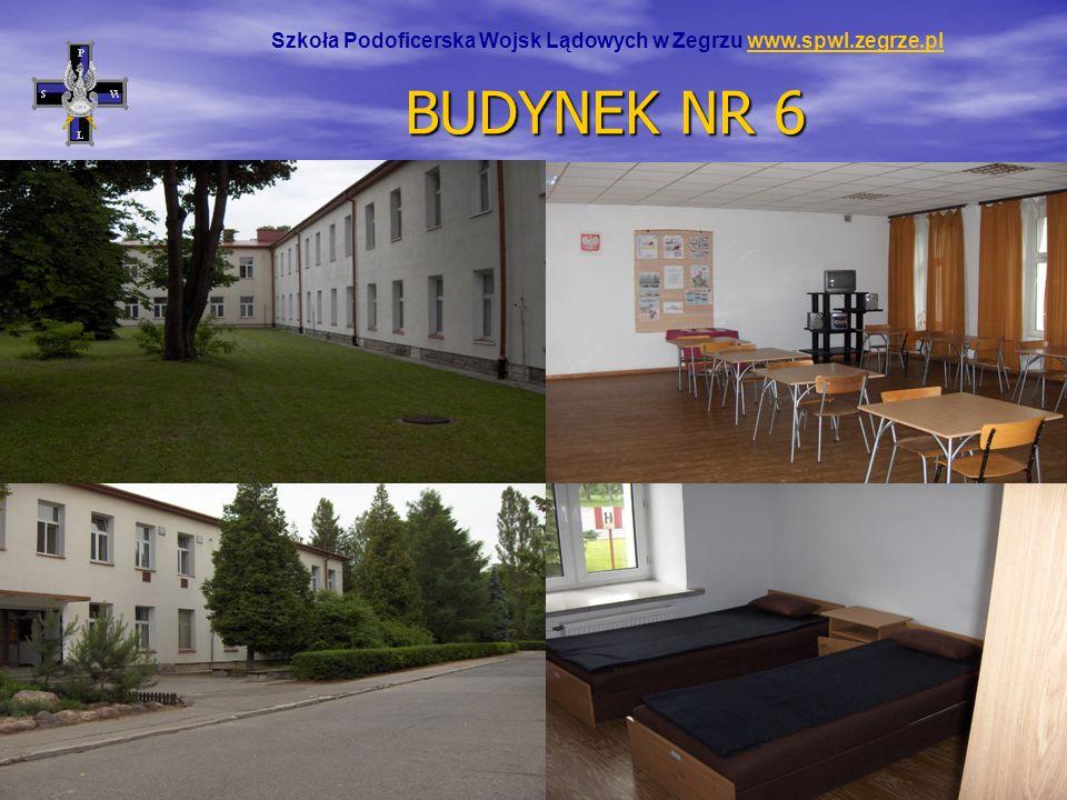 BUDYNEK NR 6 Szkoła Podoficerska Wojsk Lądowych w Zegrzu www.spwl.zegrze.plwww.spwl.zegrze.pl