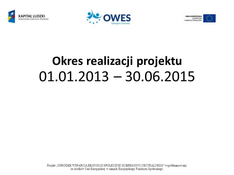 Obszar realizacji projektu Subregion centralny województwa śląskiego Projekt OŚRODEK WSPARCIA EKONOMII SPOŁECZNEJ SUBREGIONU CENTRALNEGO współfinansowany ze środków Unii Europejskiej w ramach Europejskiego Funduszu Społecznego.
