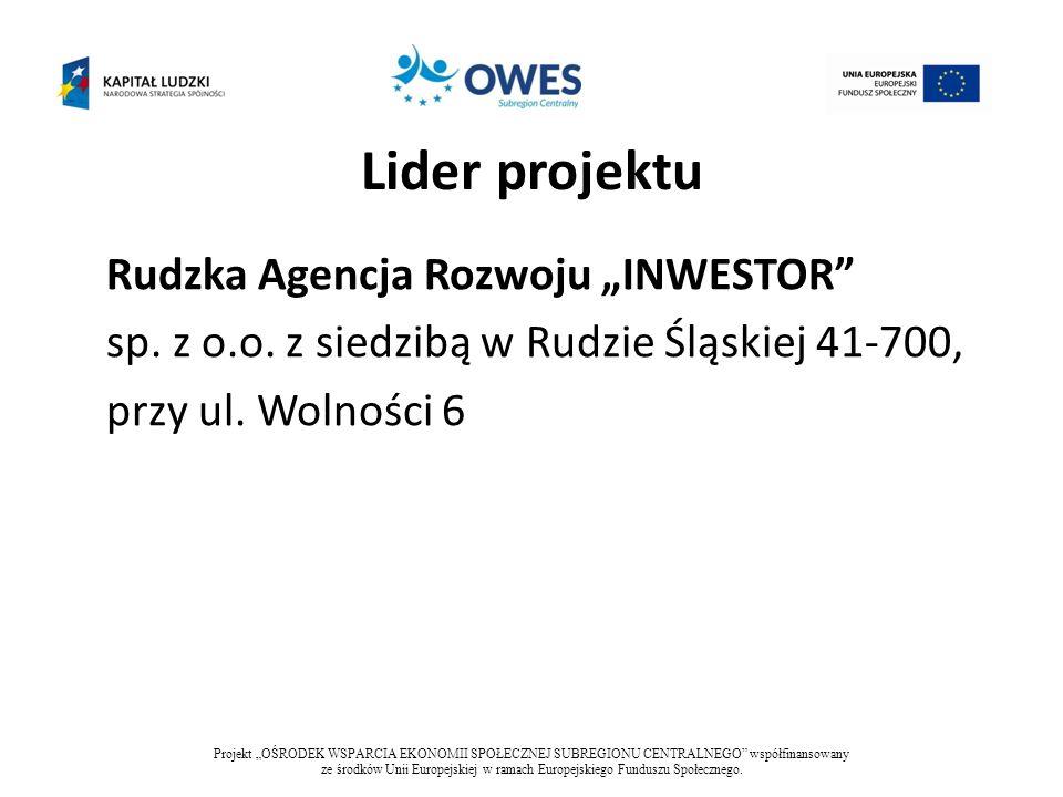 Partnerzy projektu Fundacja Regionalnej Agencji Promocji Zatrudnienia z siedzibą w Dąbrowie Górniczej 41-300, przy ul.