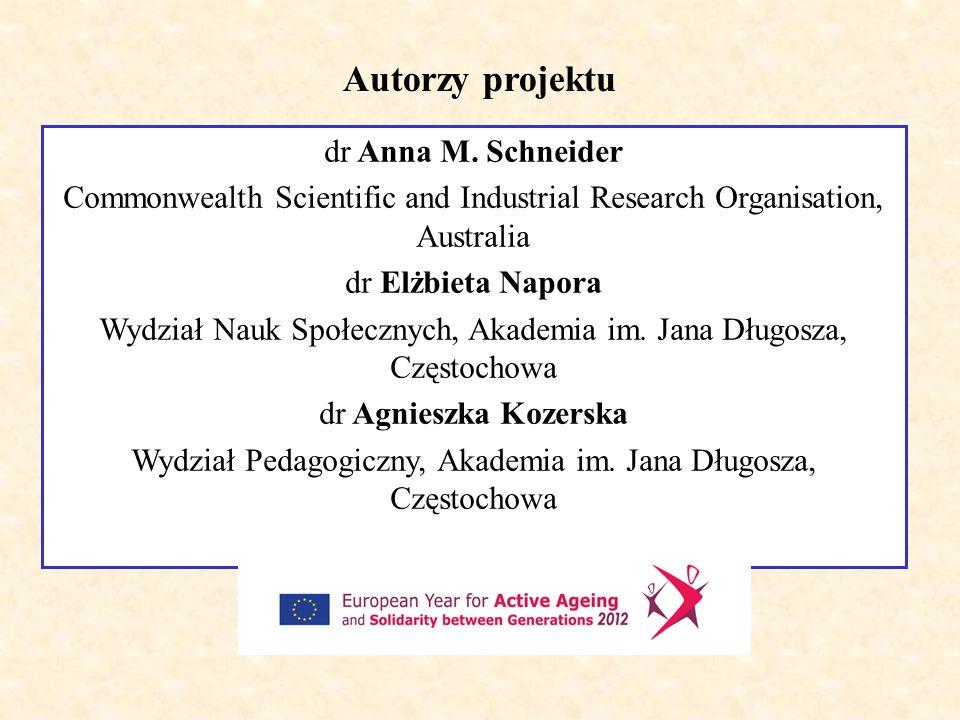 Dziękuję za uwagę e.napora@ajd.czest.pl