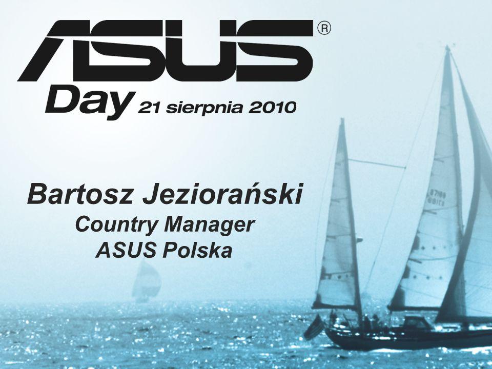 Bartosz Jeziorański Country Manager ASUS Polska
