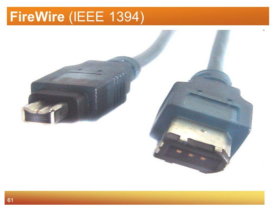 61 FireWire (IEEE 1394)