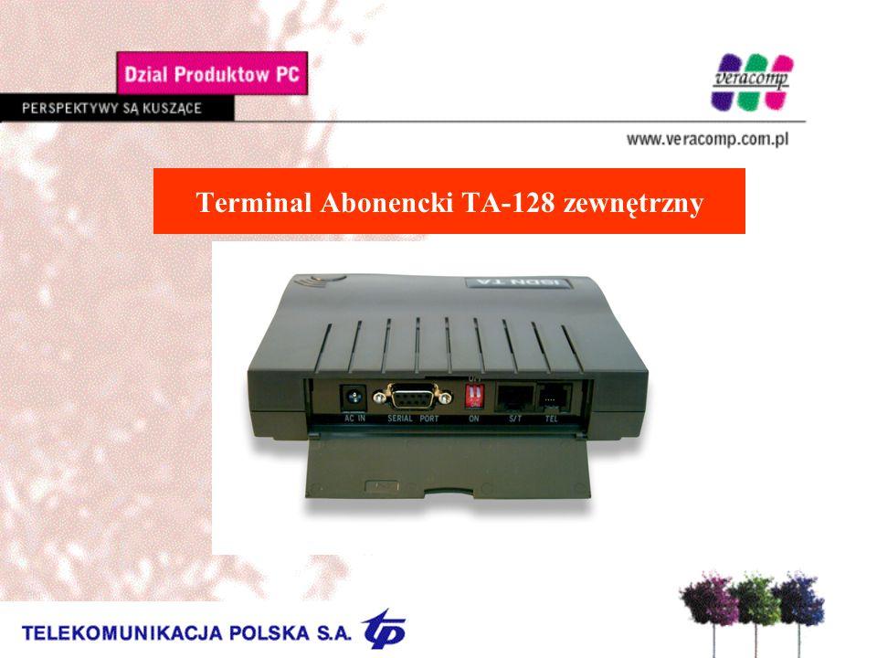 Terminal Abonencki TA-128 zewnętrzny