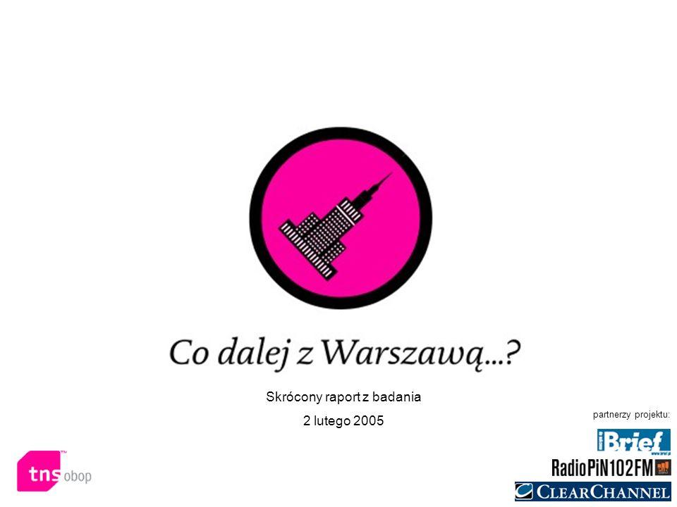 Co dalej z Warszawą...?02 lutego 2005 warszawa@tns-global.pl Jak mnie oglądać.