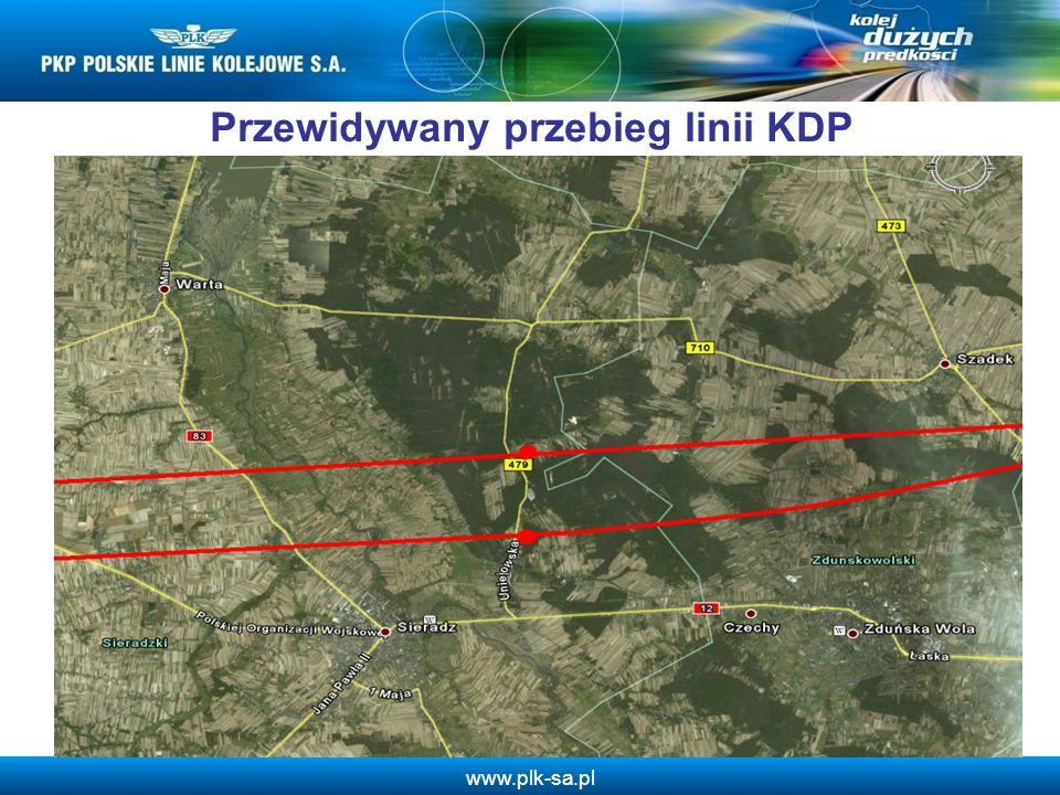 www.plk-sa.pl Przesłanki budowy stacji KDP w zachodniej części woj.