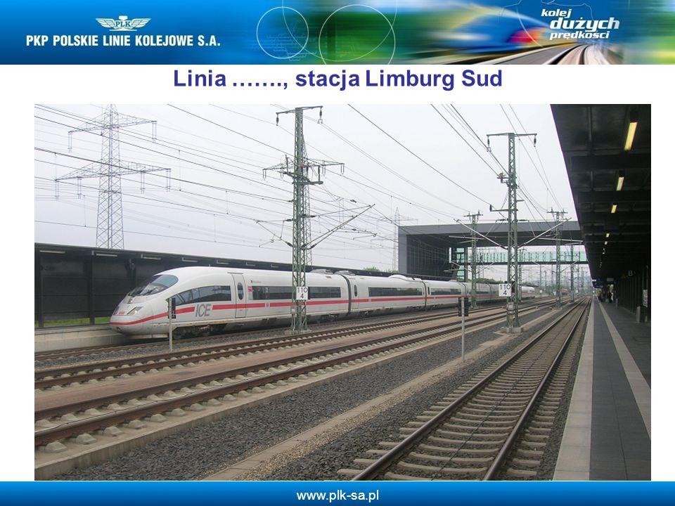 www.plk-sa.pl Linia ……., stacja Limburg Sud 8