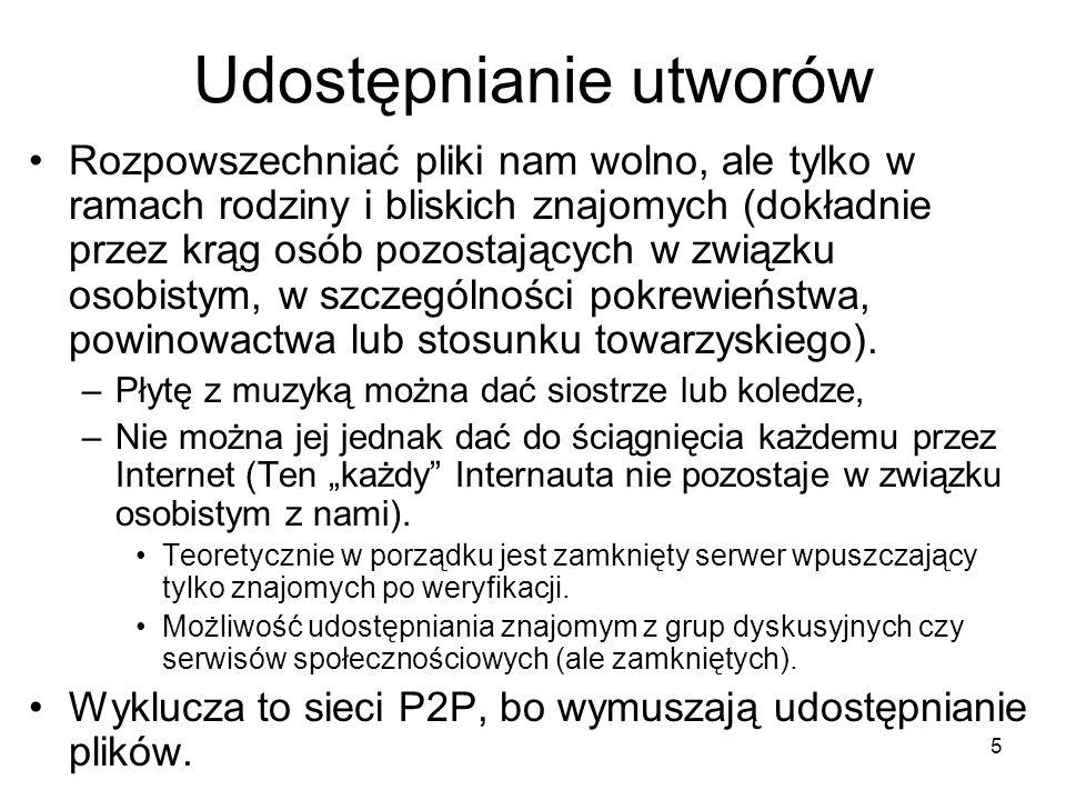 26 Legalne nagrania muzyczne cz.1 Strony z legalną muzyką w formacie MP3 –www.mp3.wp.pl(strona z darmowymi utworami)www.mp3.wp.pl Internetowe archiwa publiczne Utwory do których prawa autorskie wygasły –Prawo autorskie majątkowe jest ważne 75 lat po śmierci twórcy lub od pierwszego wykonania.