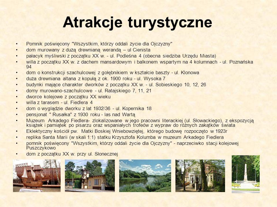 Atrakcje turystyczne Pomnik poświęcony