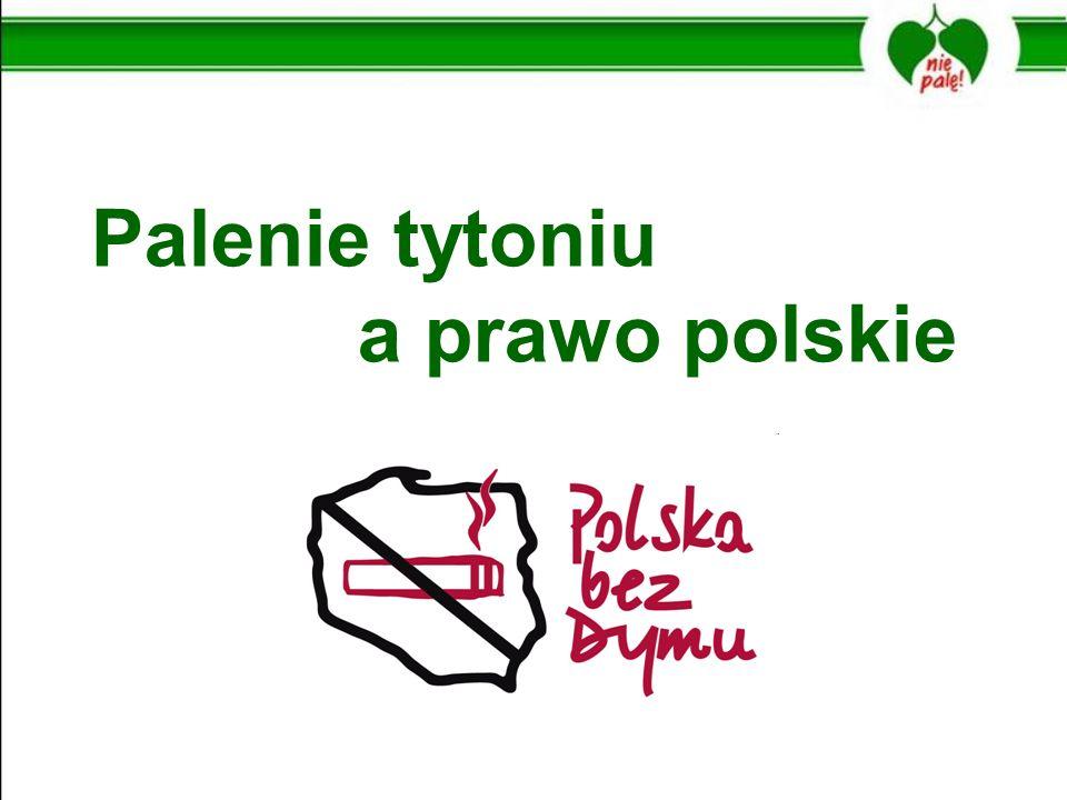 Palenie tytoniu a prawo polskie