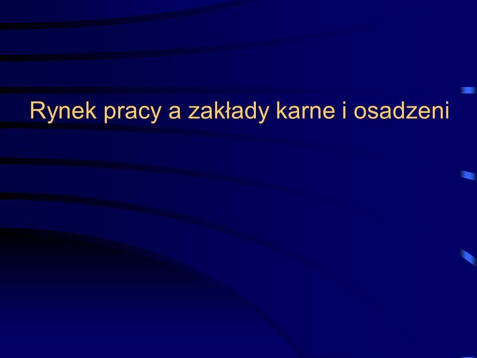 30 stycznia 2008Wrocław22 Rynek pracy a zakłady karne i osadzeni DZIĘKUJEMY ZA UWAGĘ