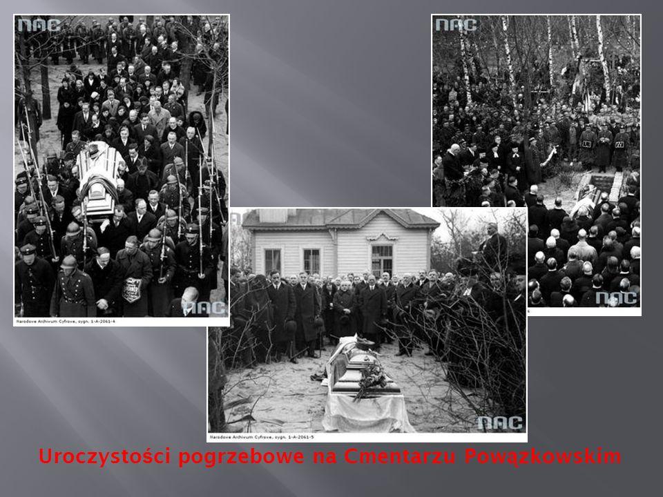 Uroczysto ś ci pogrzebowe na Cmentarzu Pow ą zkowskim