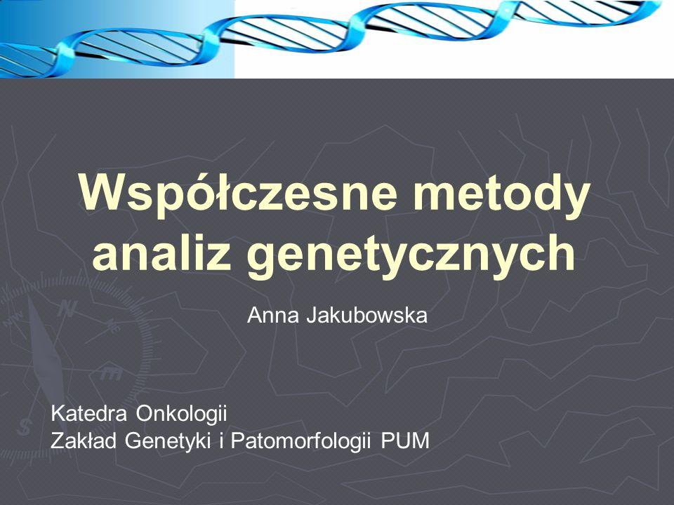 Polimorfizmy dla GWAS wysoka częstość, MAF (minor allele frequency) >5% ~7 mln SNP o częstości MAF >5% ~4 mln SNP o częstości 1-5% brak sprzężenia SNP nie powinny znajdować się w genomie blisko siebie w tzw.