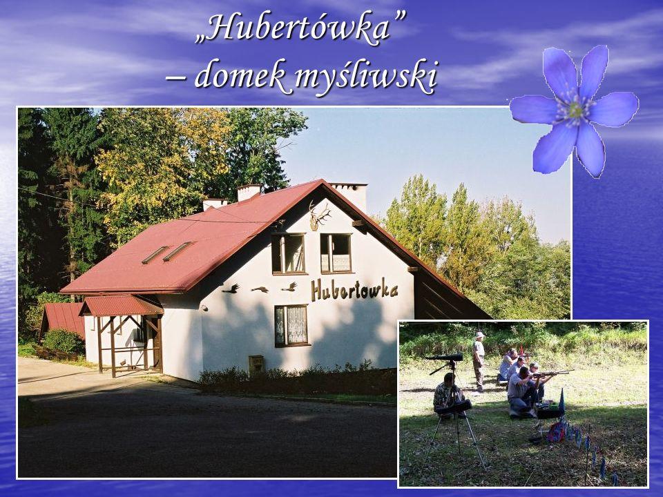 Hubertówka – domek myśliwski Hubertówka – domek myśliwski