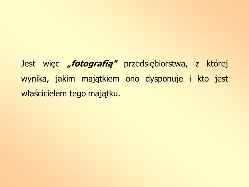 Jest więc fotografią