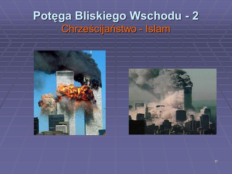 15 Potęga Bliskiego Wschodu - 2 Chrześcijaństwo - Islam