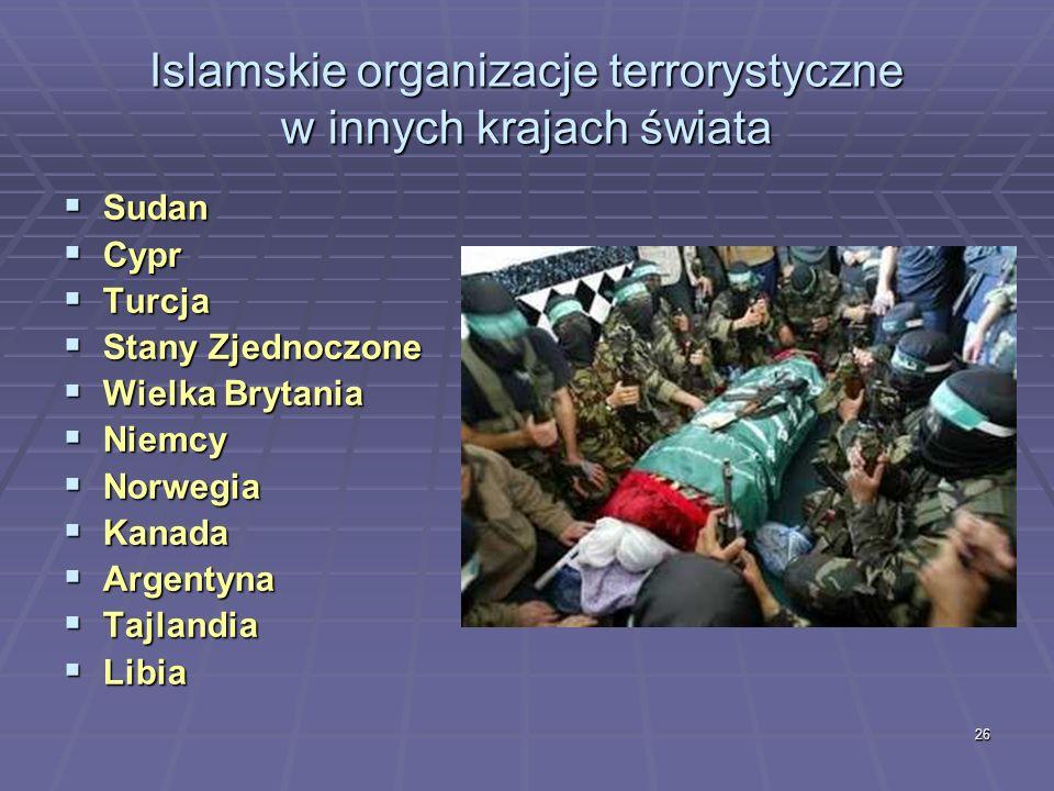 26 Sudan Sudan Cypr Cypr Turcja Turcja Stany Zjednoczone Stany Zjednoczone Wielka Brytania Wielka Brytania Niemcy Niemcy Norwegia Norwegia Kanada Kana