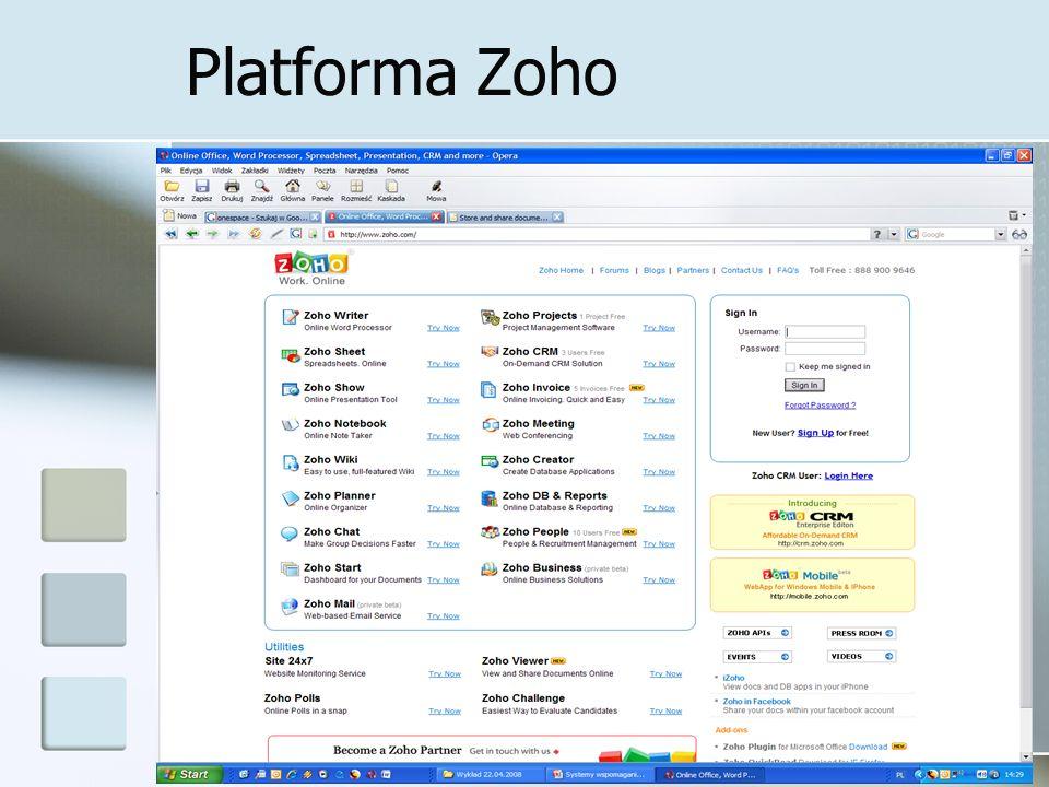 Platforma Zoho 24