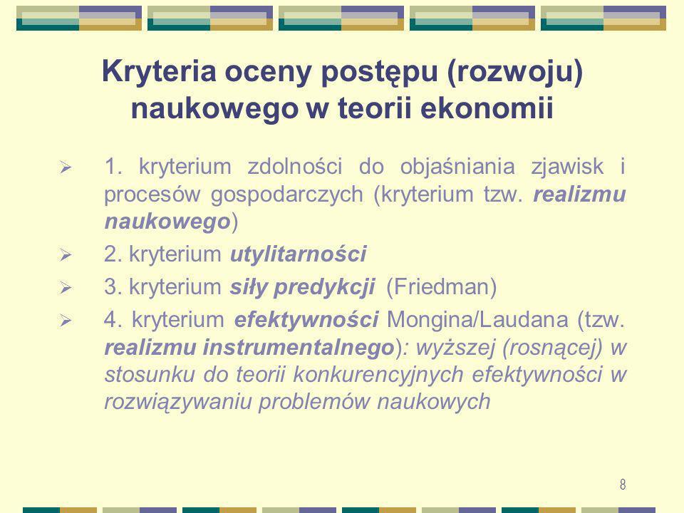 9 Ogólna periodyzacja rozwoju ekonomii jako nauki Okres przednaukowy (starożytność, średniowiecze, początek ery nowożytnej) Wyodrębnienie się ekonomii jako nauki (wiek XVII do poł.