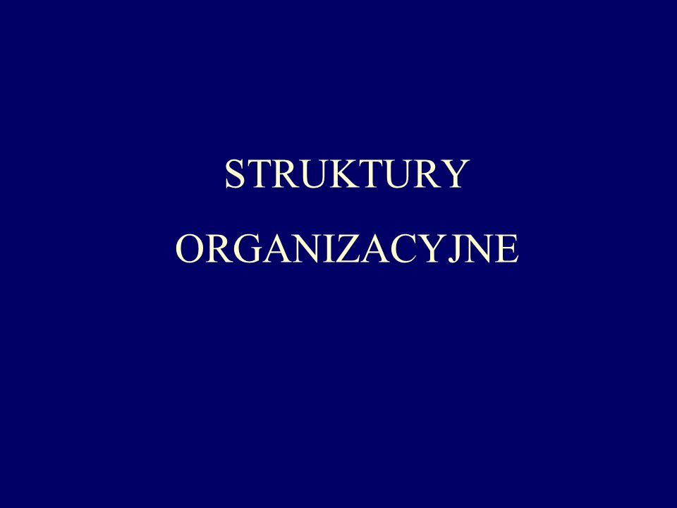 - zinstytucjonalizowana strategia organizacyjna z wyraźnym priorytetem integracji rynkowej - podsystemy regionalne posiadają własną strukturę - podsystemy regionalne są względnie autonomiczne (szeroki zakres uprawnień decyzyjnych) - szczelny system zabezpieczeń przed zakłóceniami zewnętrznymi Struktury regionalne zaopatrzenieprodukcjasprzedażadministracja KN kadryB+RfinanseEDV Region YRegion ZRegion X Wyrób AWyrób BWyrób C Centralne jednostki organizacyjne Jednostki regionalne Jednostki asortymentowe Jednostki funkcjonalne